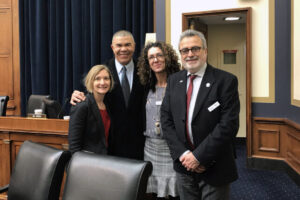 Division Faculty Advocate for NIH Funding and DXA Bill on Capitol Hill